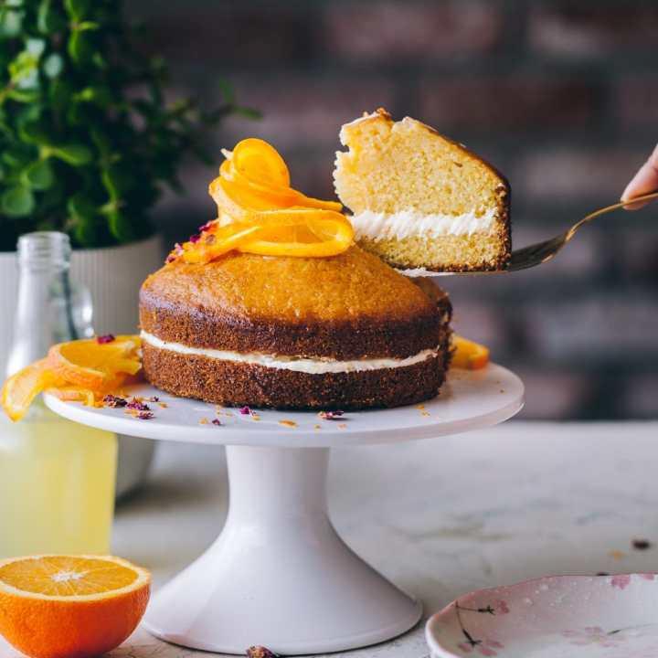 orange cornmeal cake 03