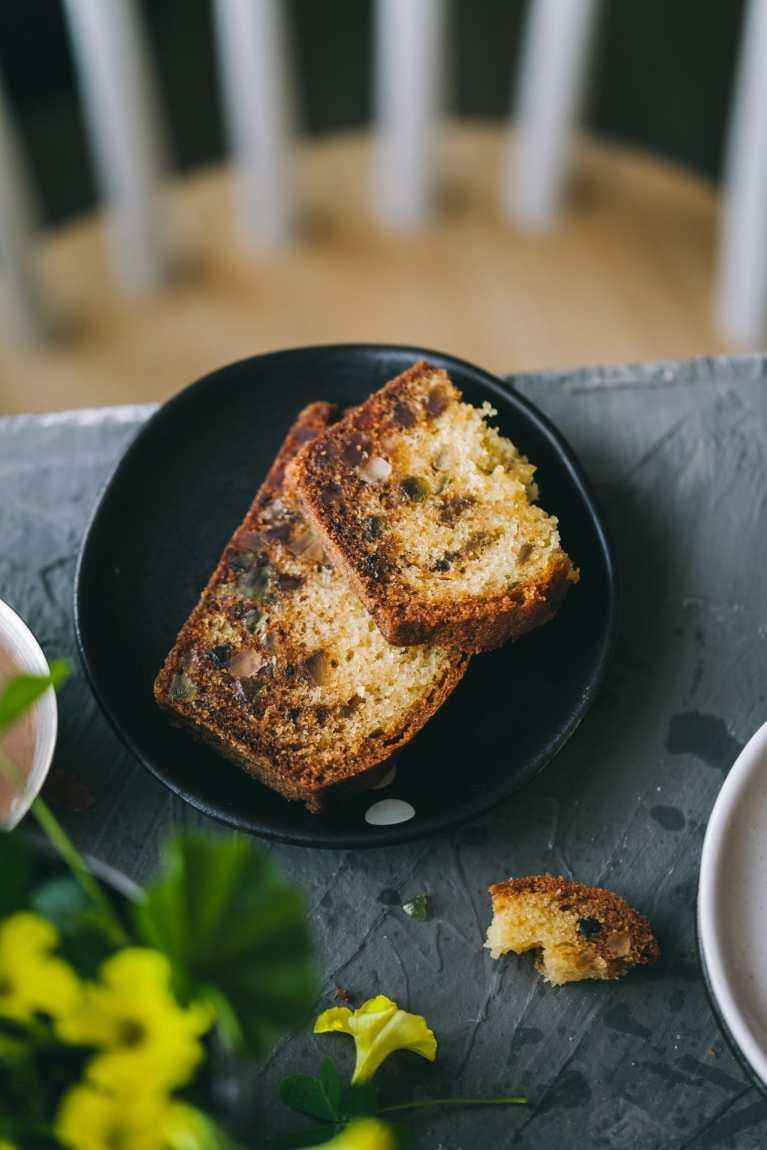 Tea Cake | Playful Cooking #cake #teatimecake #tuttifrutti #cake #loafcake #easycake #foodphotography #foodstyling