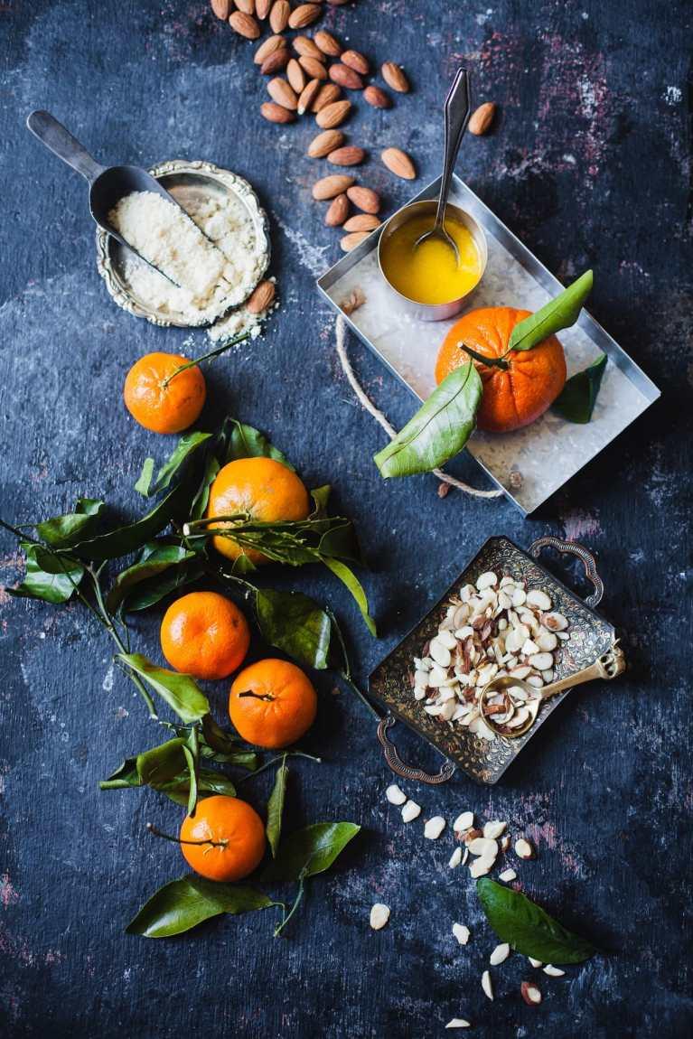 Santra Badam Barfi (Orange Almond Fudge) 5