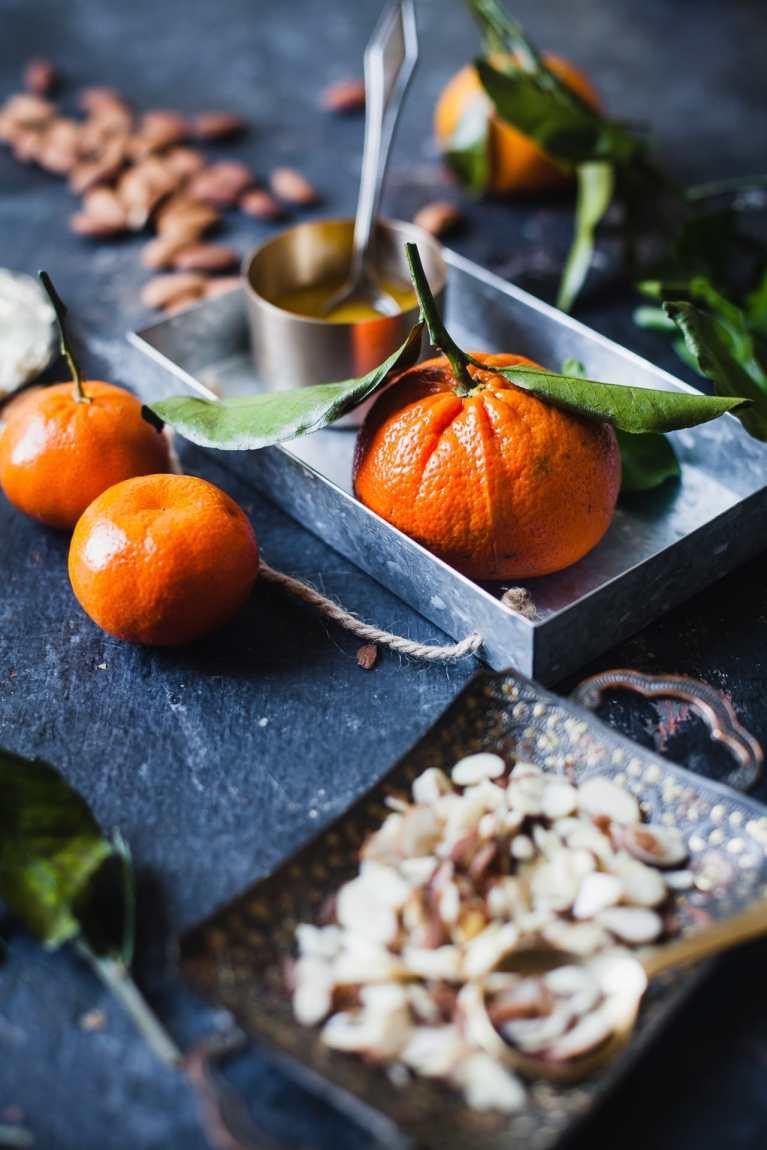 Santra Badam Barfi (Orange Almond Fudge) 6