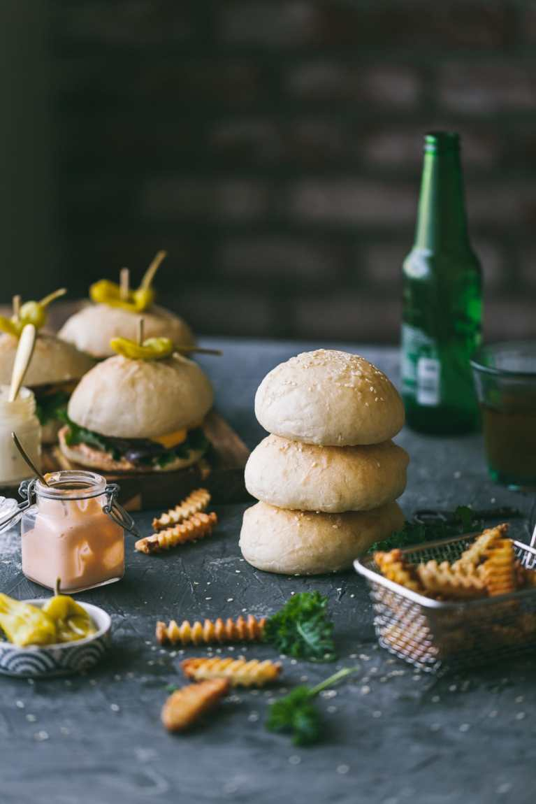 eggless burger buns 05
