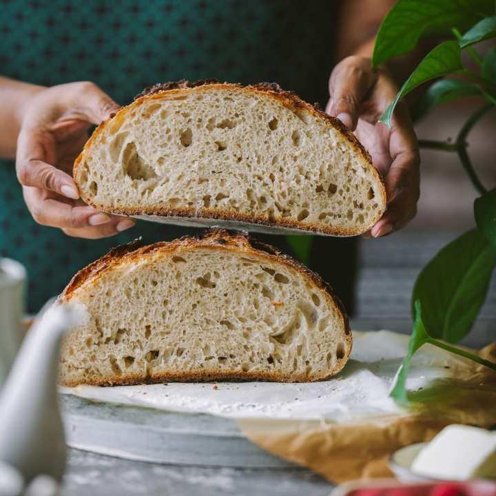 Sourdough Bread : No Knead and EASY