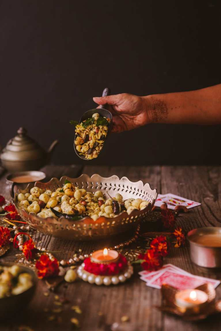 Chivda (Healthy Indian Snack)