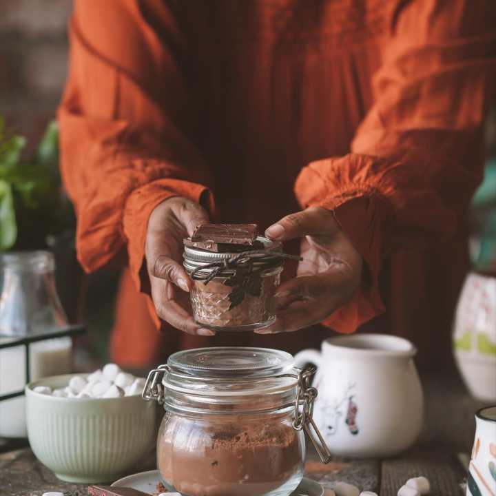 Hot Chocolate Mix ( 5 minutes )