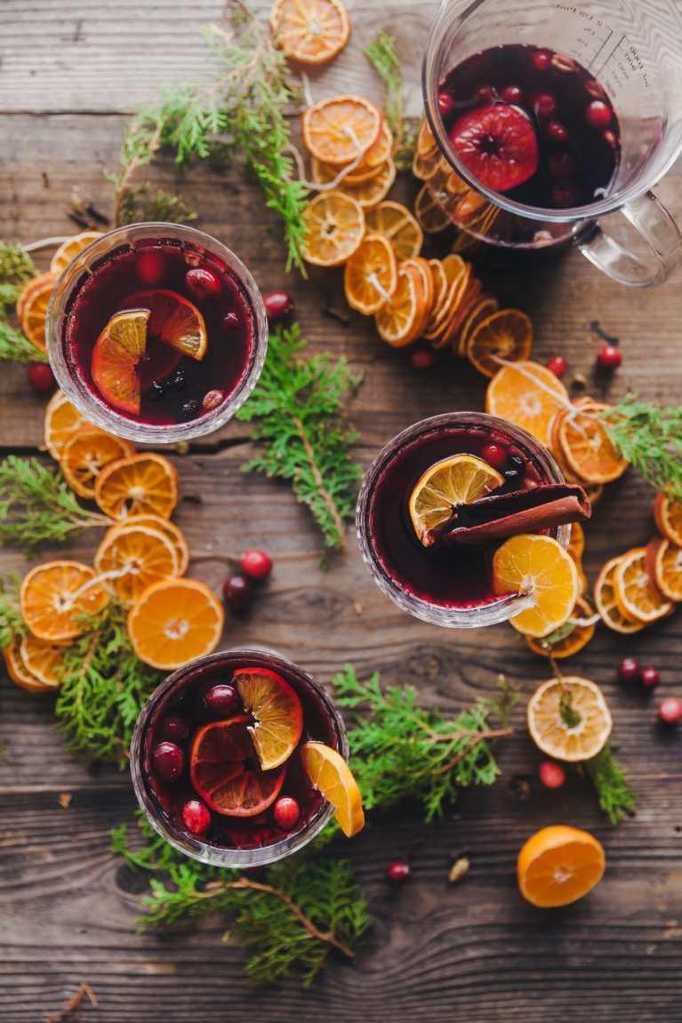 Orange Spiced Warm Wine