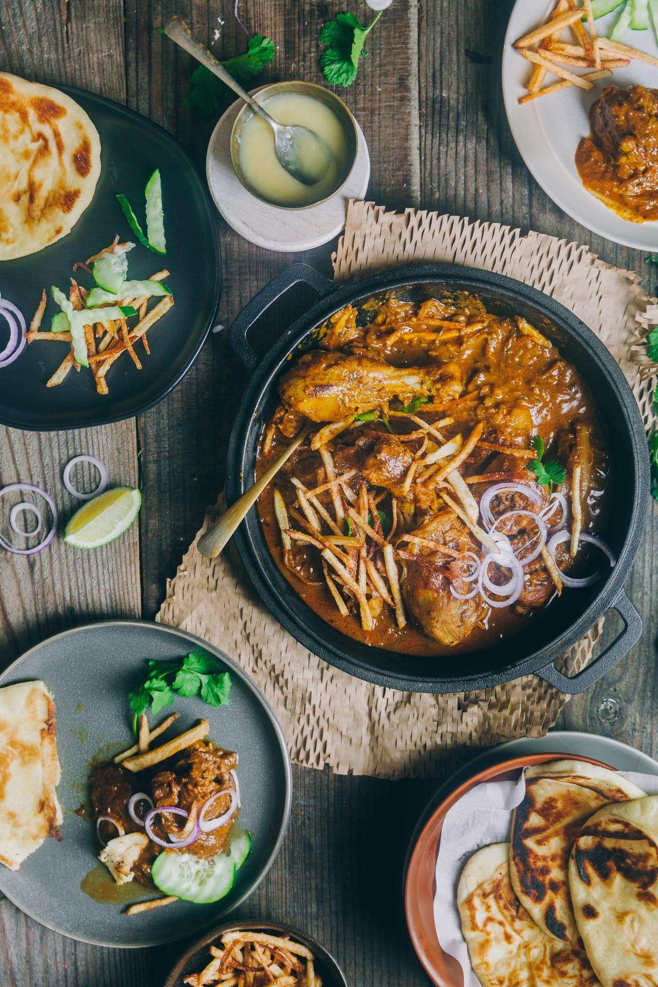 Parsi Chicken Curry