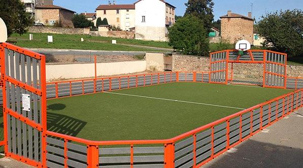 Mugaplay gris et orange à Montagny
