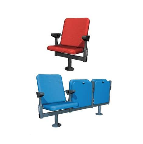 Sièges et fauteuils vIP pour tribunes ou loges de stade par Playgones