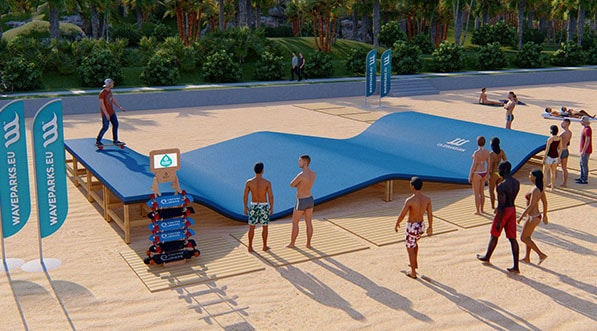 Tendance, loisir 2019, innovation, waveramp, base de loisir, station balneaire