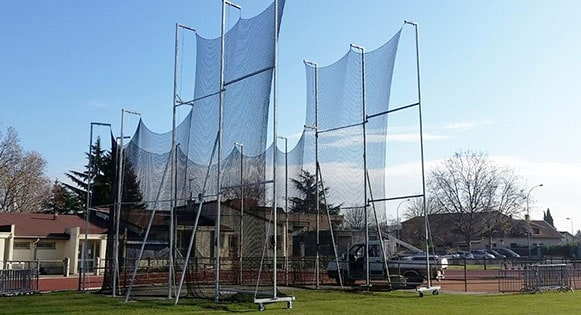 Mise en place d'une cage de lancer a villeurbanne
