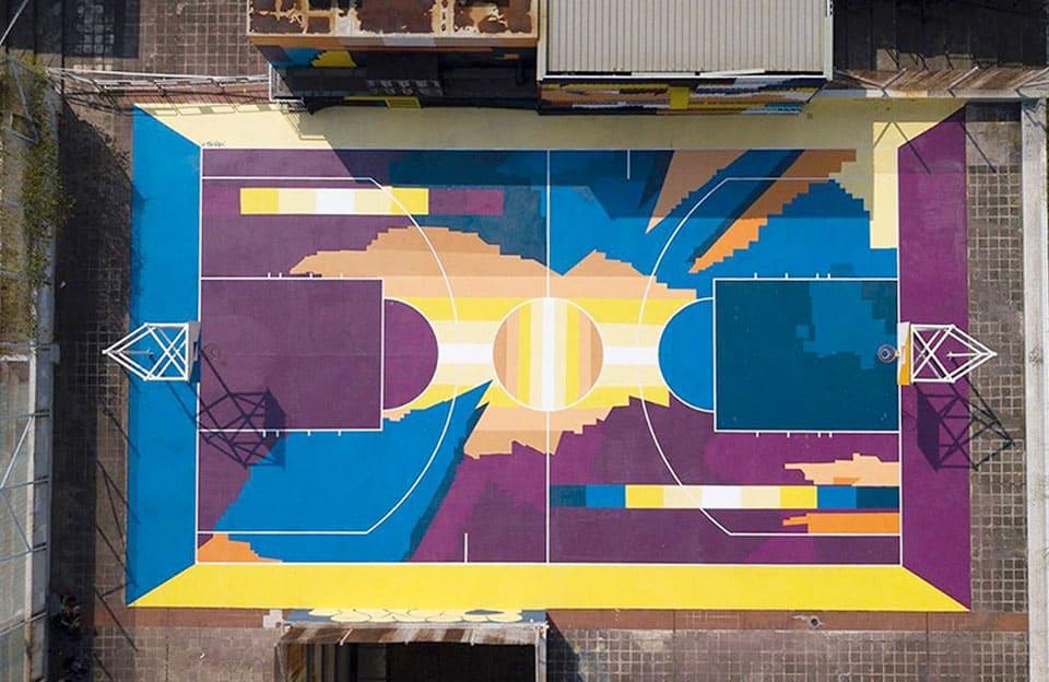 Xeme basketball court à Hong Kong
