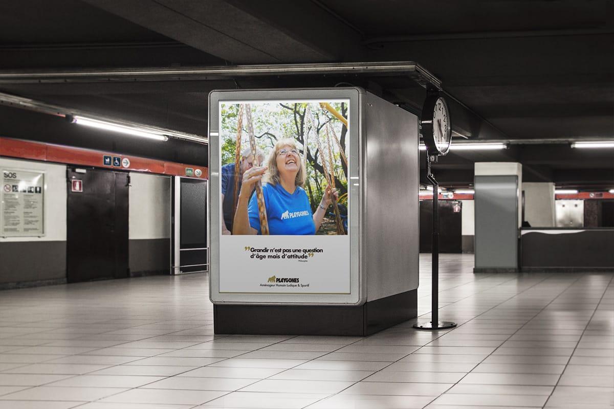 Grandir n'est pas une question d'âge mais d'attitude - Campagne promo LudiSeniors