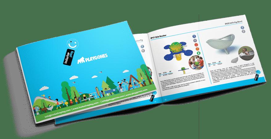 Catalogue aire de jeux inclusive et jeux inclusifs