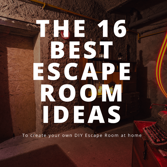 escape room birthday party how to give