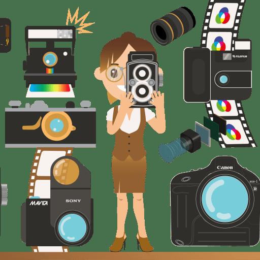 L'évolution de la photographie