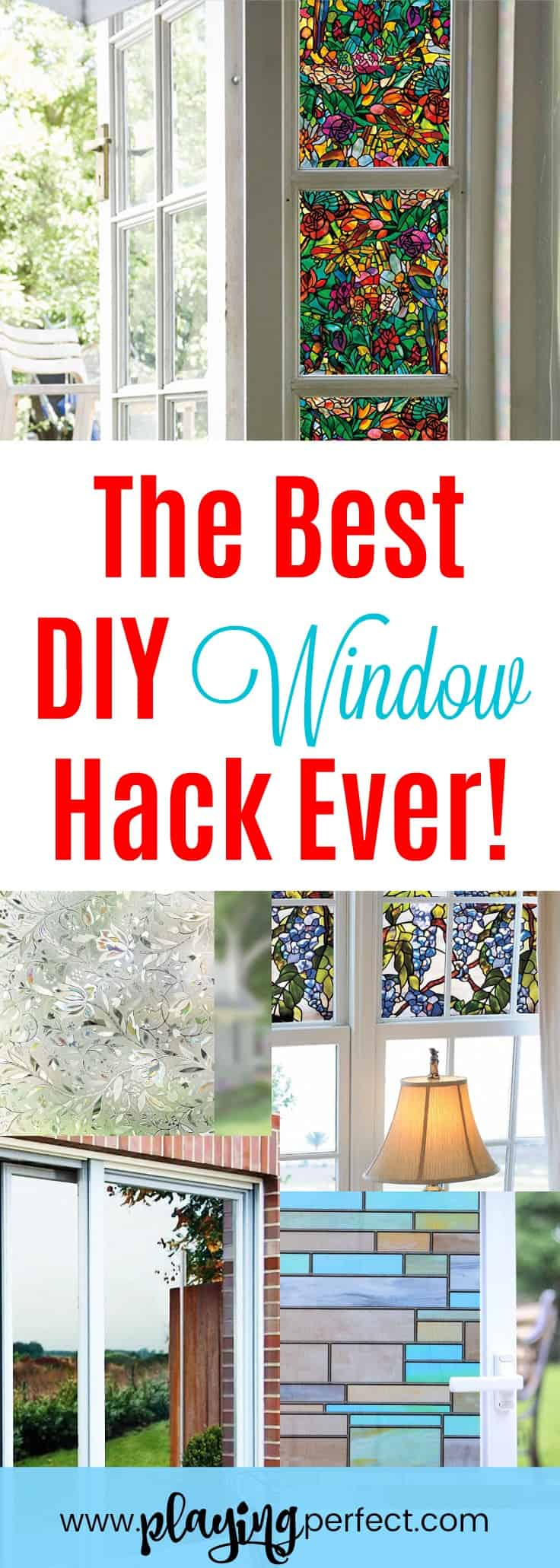 Wow Window Film Is The Best Diy Window Hack Ever Playing