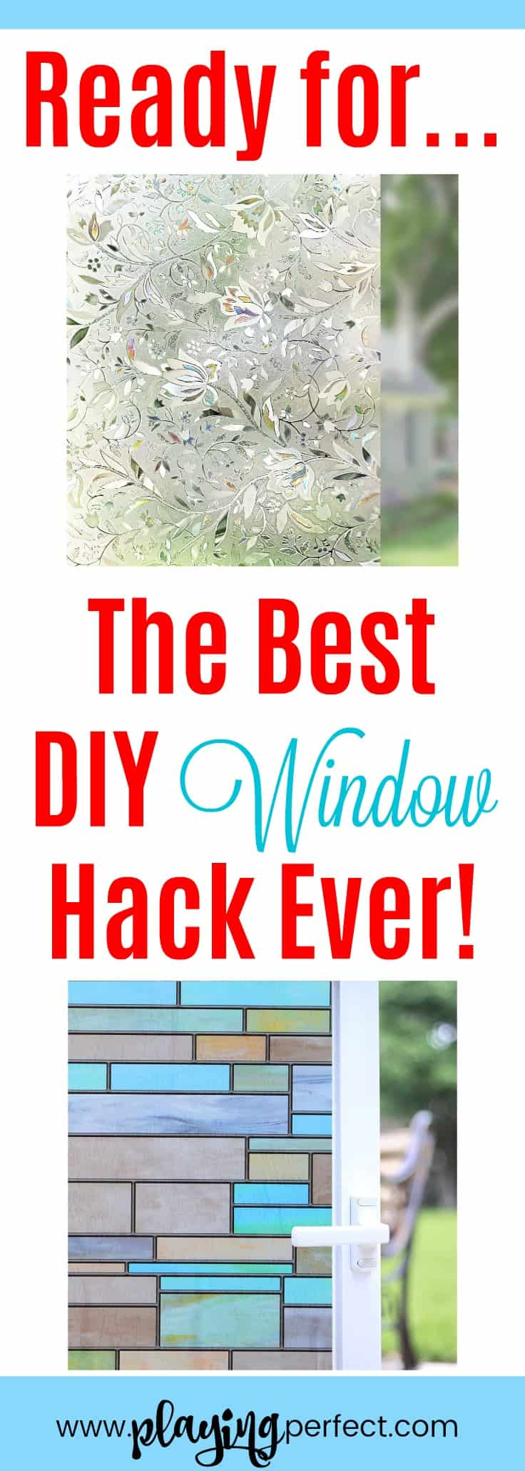Wow Window Film Is The Best DIY Window Hack Ever   Playing Perfect