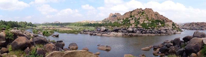 Hampi dans le karnataka en Inde