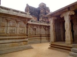 Hazara Rama Temple a Hampi dans le karnataka en inde