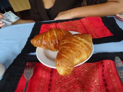 Des croissants a luang rpprabang au laos