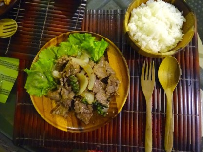 Plat traditionnel cambodgien