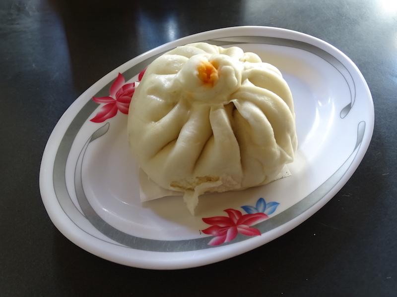 Un dumpling au porc au cambodge