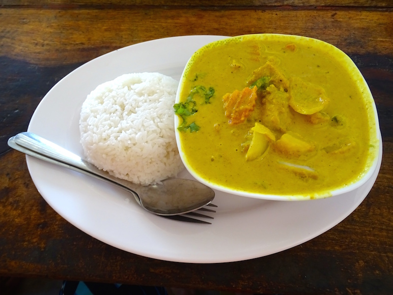 Le fish amok, une spécialité khmere