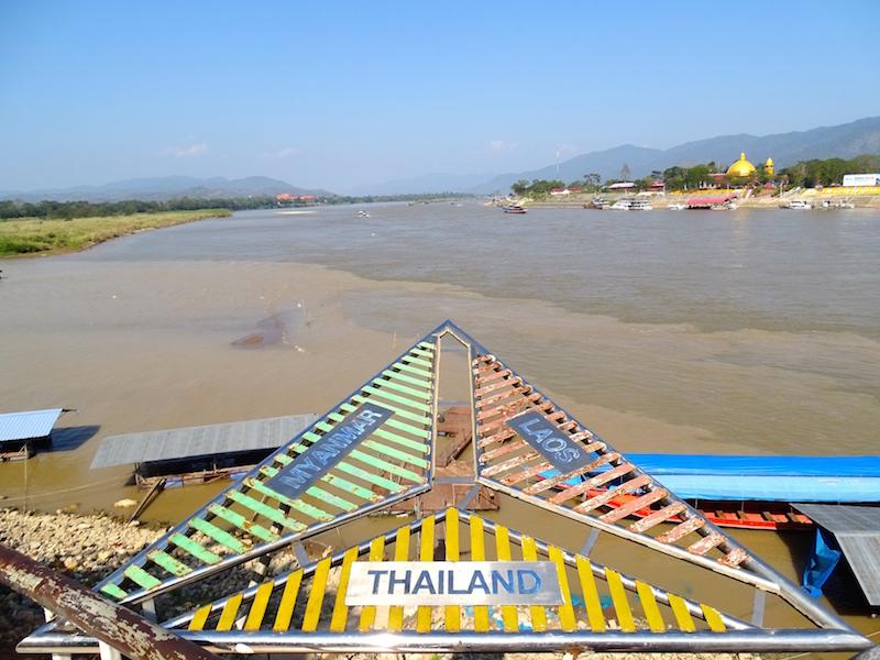 Carte Frontiere Thailande Laos.Conseils Pour Passer La Frontiere Thailande Laos Cote