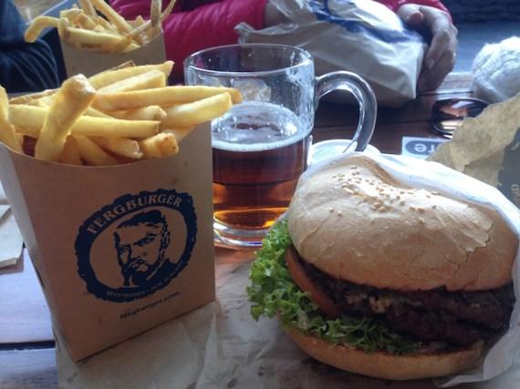 Ferg Burger à Queenstown