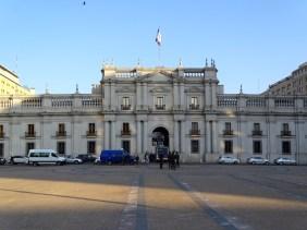Le palais de la Moneda