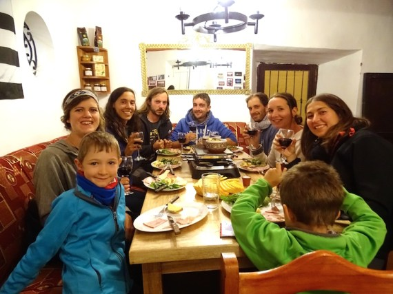Raclette party au Buffet Frances