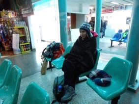 2h d'attente dans le froid au terminal de Puno