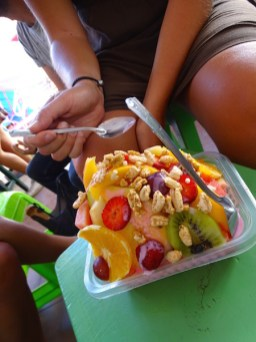 Salade de fruit du marché