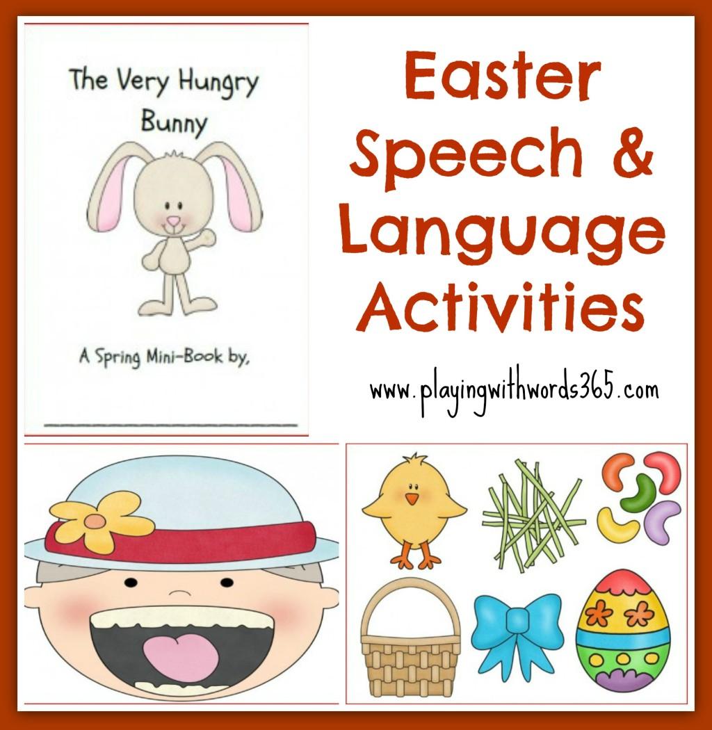 Speech Worksheets For Preschoolers