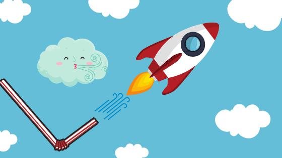 Rocket Launcher Craft for Teaching Self-Regulation