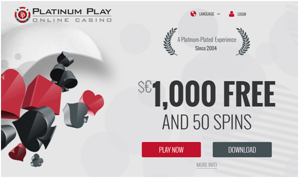 Platinum play casino review best in online gambling.