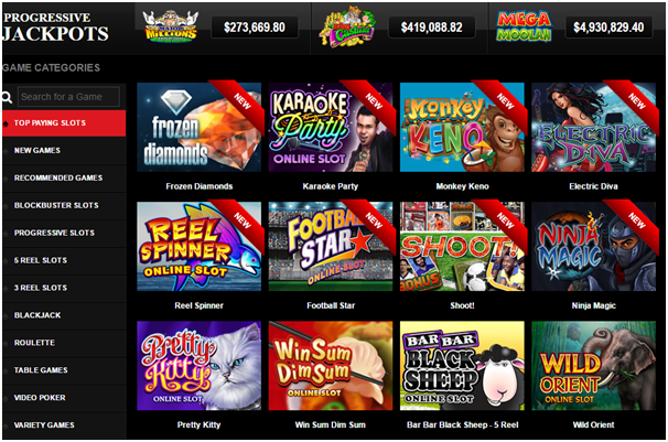 Maple Casino Games