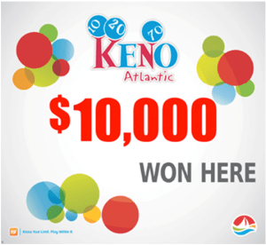 Image result for Atlantic Canada Keno lottery