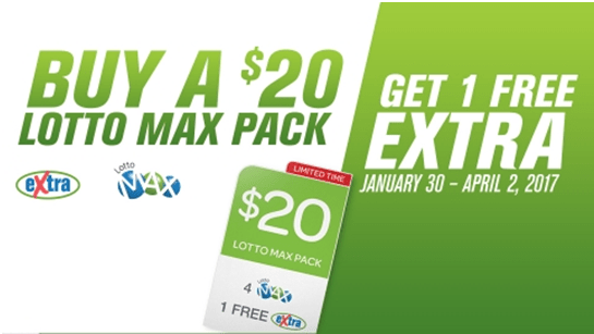 Lottomax prizes