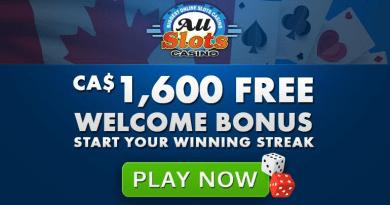 All slots Casino CAD