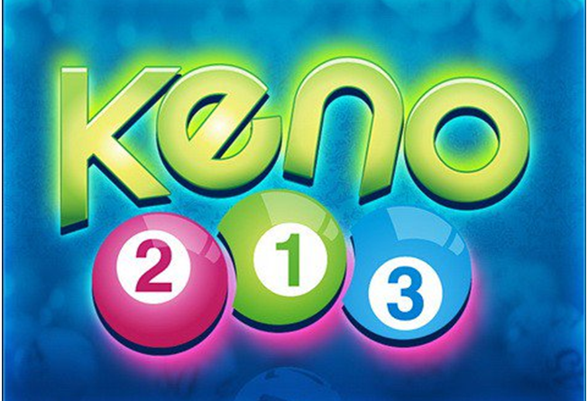 Keno game at online Canadian casinos