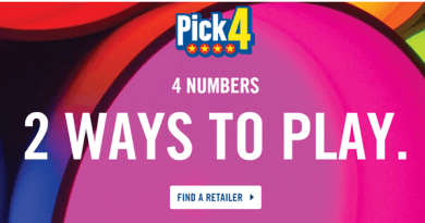 Pick 4 lottery Canada