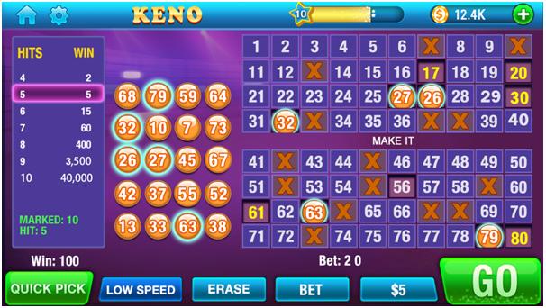 How to play Keno Kino