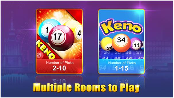 Keno Kino Game App