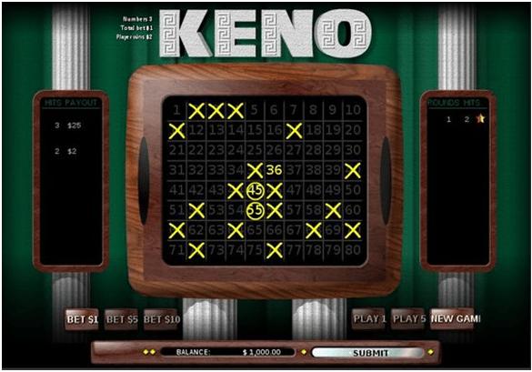 Keno game secrets
