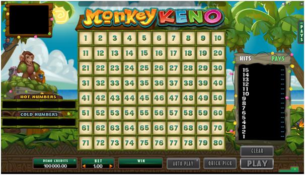 Monkey Keno