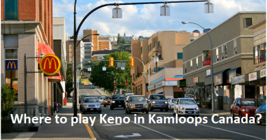 Where to play Keno in Kamloops Canada