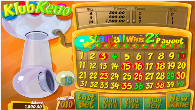 How and where to play Klub Keno online in Canada?