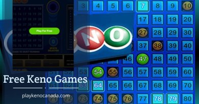 Free-Keno-Games in Canada