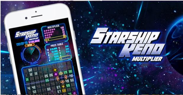 Where to play Starship Keno Mulitplier online in Canada?